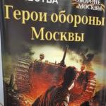 герои обороны Москвы